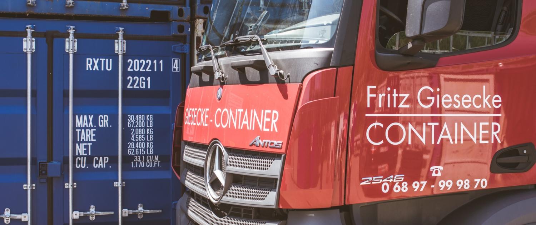Giescke Container - Container Vermietung