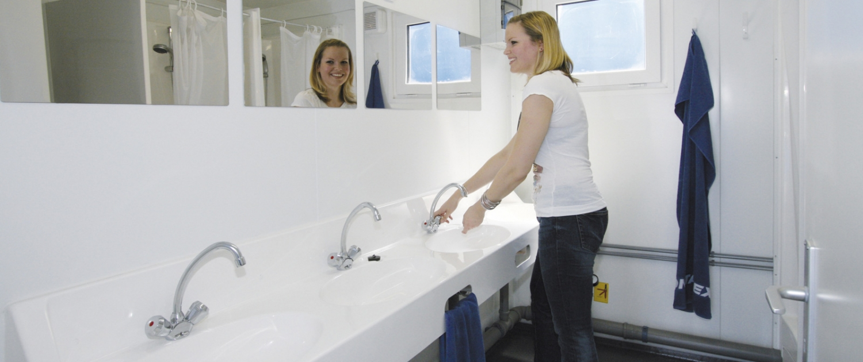 Sanitärcontainer mieten im Saarland